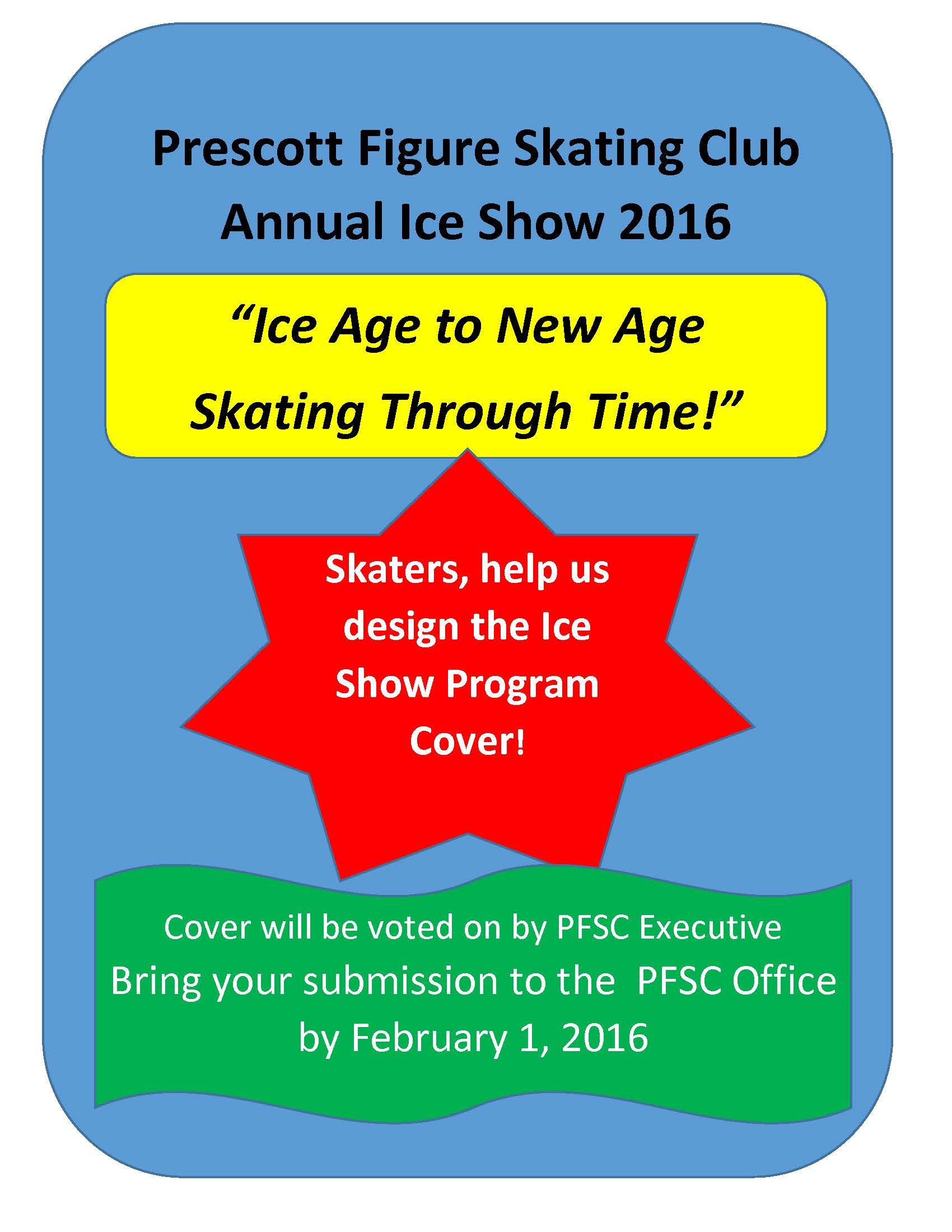 Ice Show Cover Contest