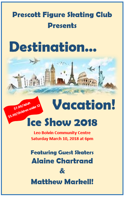 PFSC Ice Show 2018_Poster